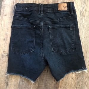American Eagle Outfitters Shorts - American Eagle | Dark Wash Super Stretch Shorts